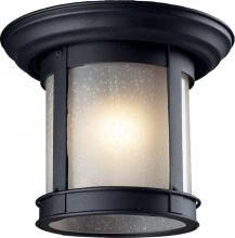 Z-Lite 514F-BK - Outdoor Flush Mount Light