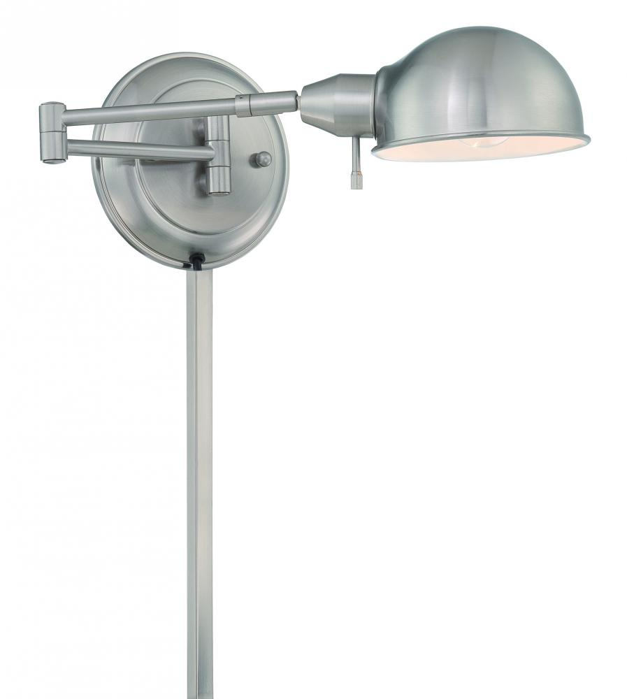 #Swing-Arm Wall Lamp, Ps, E27 Cfl 13W