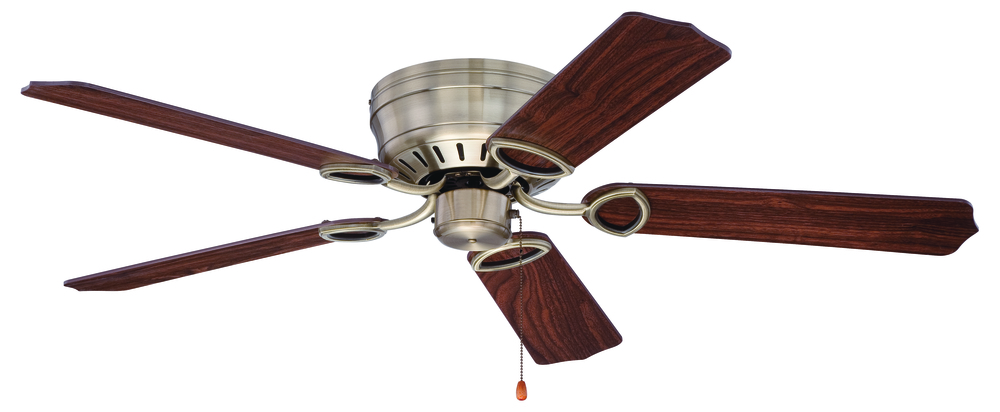 "Pro Universal Hugger 52"" Ceiling Fan Kit in Antique Brass"