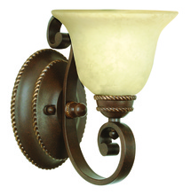 Craftmade 8107AG1 - Riata 1 Light Wall Sconce in Aged Bronze Textured