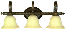 Craftmade 8128AG3 - Riata 3 Light Vanity in Aged Bronze Textured