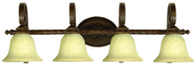 Craftmade 8136AG4 - Riata 4 Light Vanity in Aged Bronze Textured