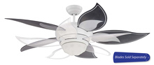 "Craftmade BL52W - 52"" Ceiling Fan, Blade Options"