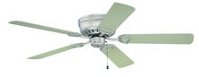 "Craftmade K10197 - Pro Universal Hugger 52"" Ceiling Fan Kit in Brushed Satin Nickel"
