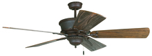 "Craftmade K11248 - Riata 52"" Ceiling Fan Kit in Aged Bronze Textured"