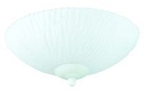 Craftmade LKE35F-CFL - 2 Light Elegance Bowl Fan Light Kit with Opal Frost Glass