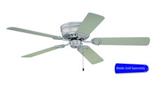"Craftmade PUH52BN - Pro Universal Hugger 52"" Ceiling Fan in Brushed Satin Nickel (Blades Sold Separately)"