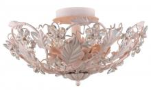 Crystorama 5316-BH - Crystorama Paris Market 6 Light Blush Semi-Flush