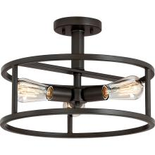 Quoizel NHR1715WT - New Harbor Semi-Flush Mount