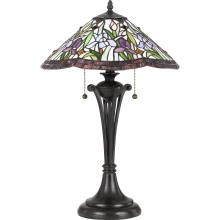 Quoizel TF3456TVB - White Valley Table Lamp