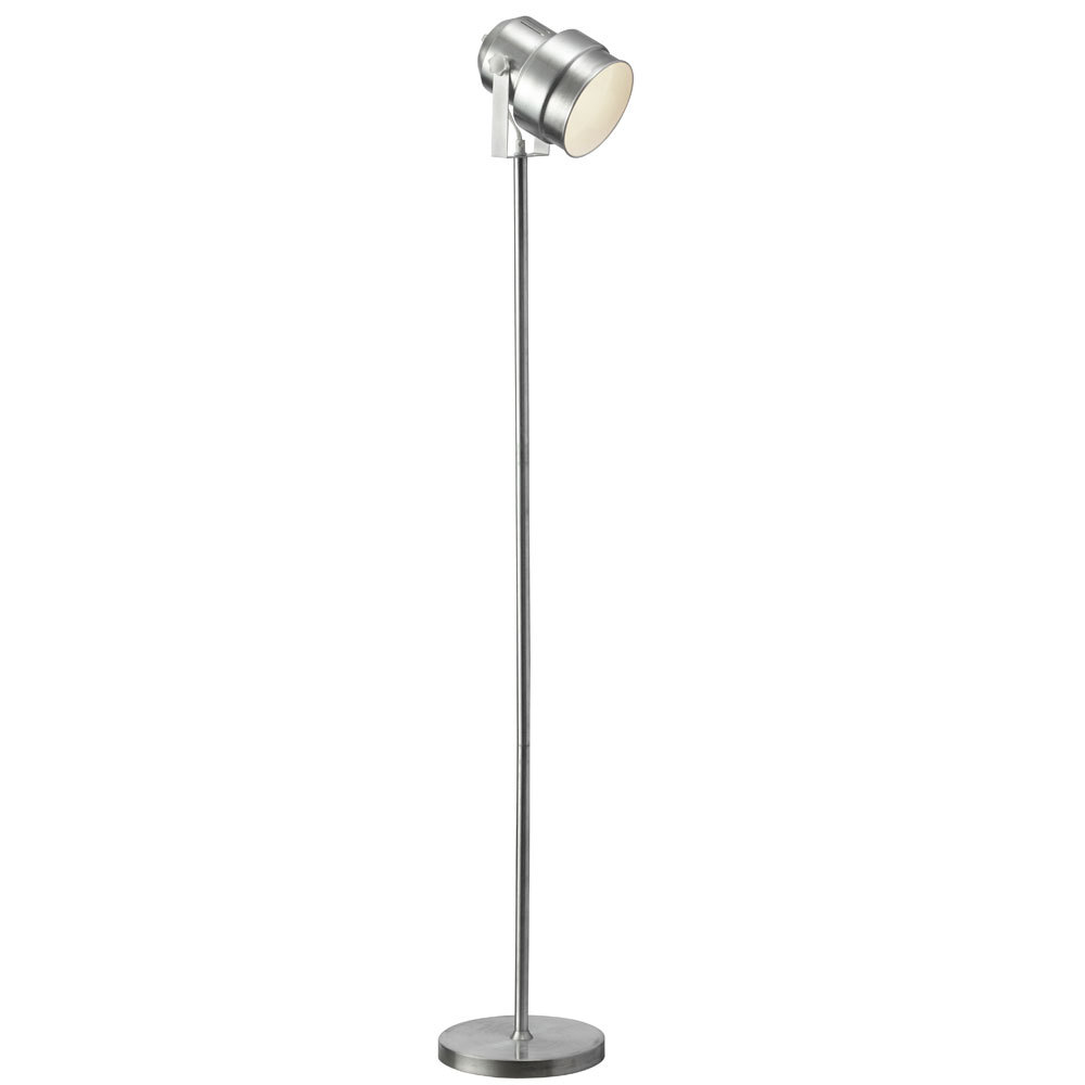 Floor Spot Light,Brushed Aluminum Finish