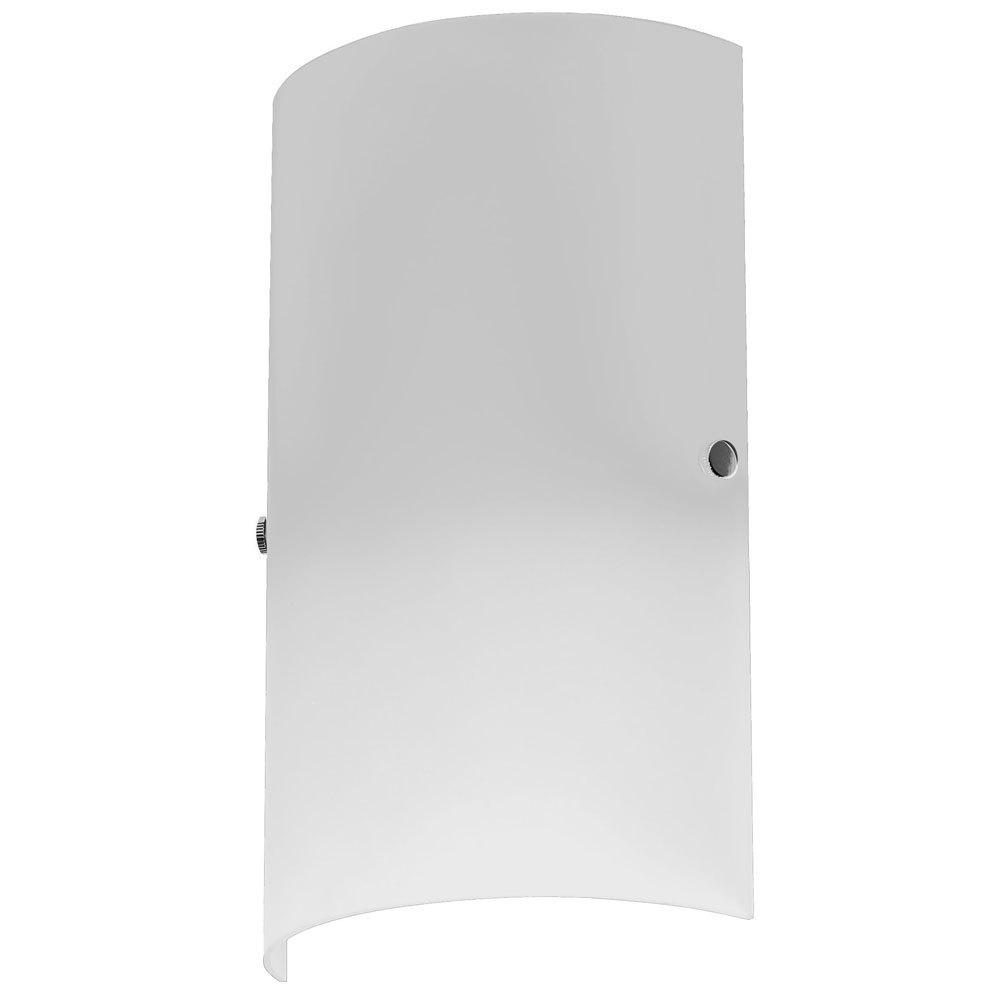 1LT White Wall Sconce