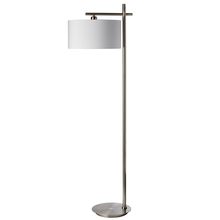 Dainolite 131F-SC - 1LT Floor Lamp, Satin Chrome Finish