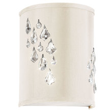 Dainolite RHI-8L-2W-695 - 2LT Wall Sconce w/Crystal Accents Left