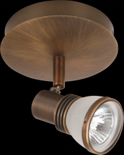 Omotec Canada 109FM01AB-FR - One Light Brass Directional Sconce