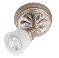 Omotec Canada 105FM01RC-FR - One Light Copper Directional Flush Mount