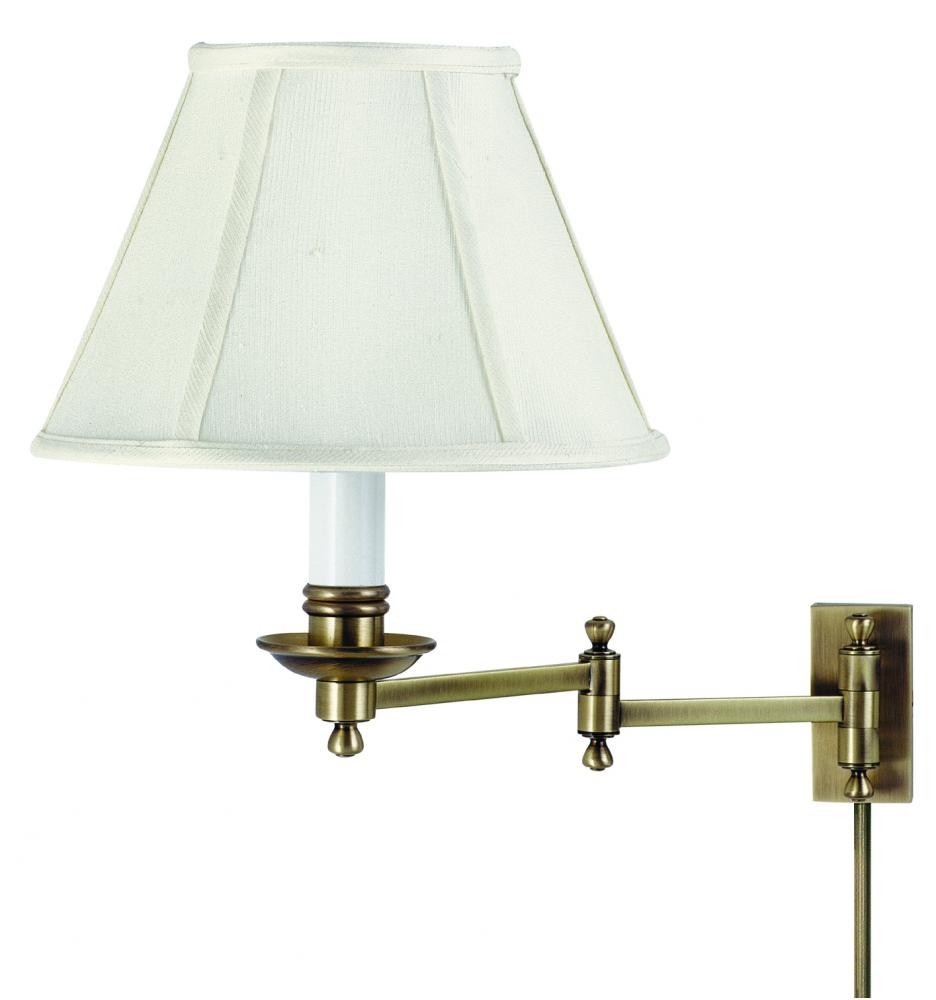 Library Wall Swing Arm Lamp