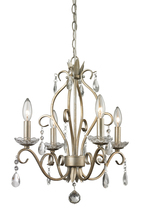 Z-Lite 424AS - 4 Light Mini Chandelier
