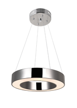 CWI Lighting 1131P12-613 - LEDt Othe Mini Chandelier with Polished Nickel Finish