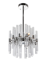 CWI Lighting 1137P10-3-613 - 3 Light Mini Chandelier with Polished Nickel Finish