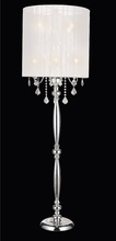 CWI Lighting 5002F20C(W) - 8 Light Floor Lamp with Chrome finish
