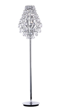 CWI Lighting 5011F15C (Clear) - 8 Light Floor Lamp with Chrome finish