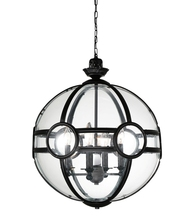 CWI Lighting 9696P25-5-101 - 5 Light Pendant with Black finish