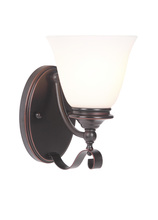 Jeremiah 39801-OBG - Chelsea 1 Light Wall Sconce in Oil Bronze Gilded