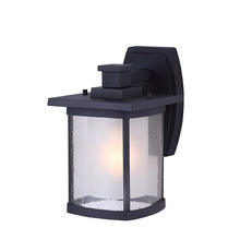 "Canarm IOL236BK - Outdoor, IOL236BK, 1 Light Outdoor Down Light, Seeded/Frost Glass, 100W Type A, 6 1/2""W x 10 1/4"