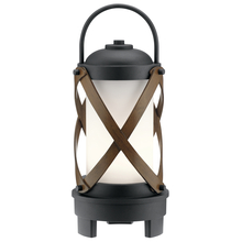 Kichler 49239BKTLED - Portable Bluetooth LED Lantern