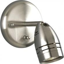 Progress P6154-09WB - One Light Brushed Nickel Outdoor Directional Light