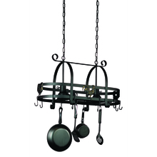 Artcraft AC1798SPEB - Wrought Iron AC1798SPEB Pot Rack
