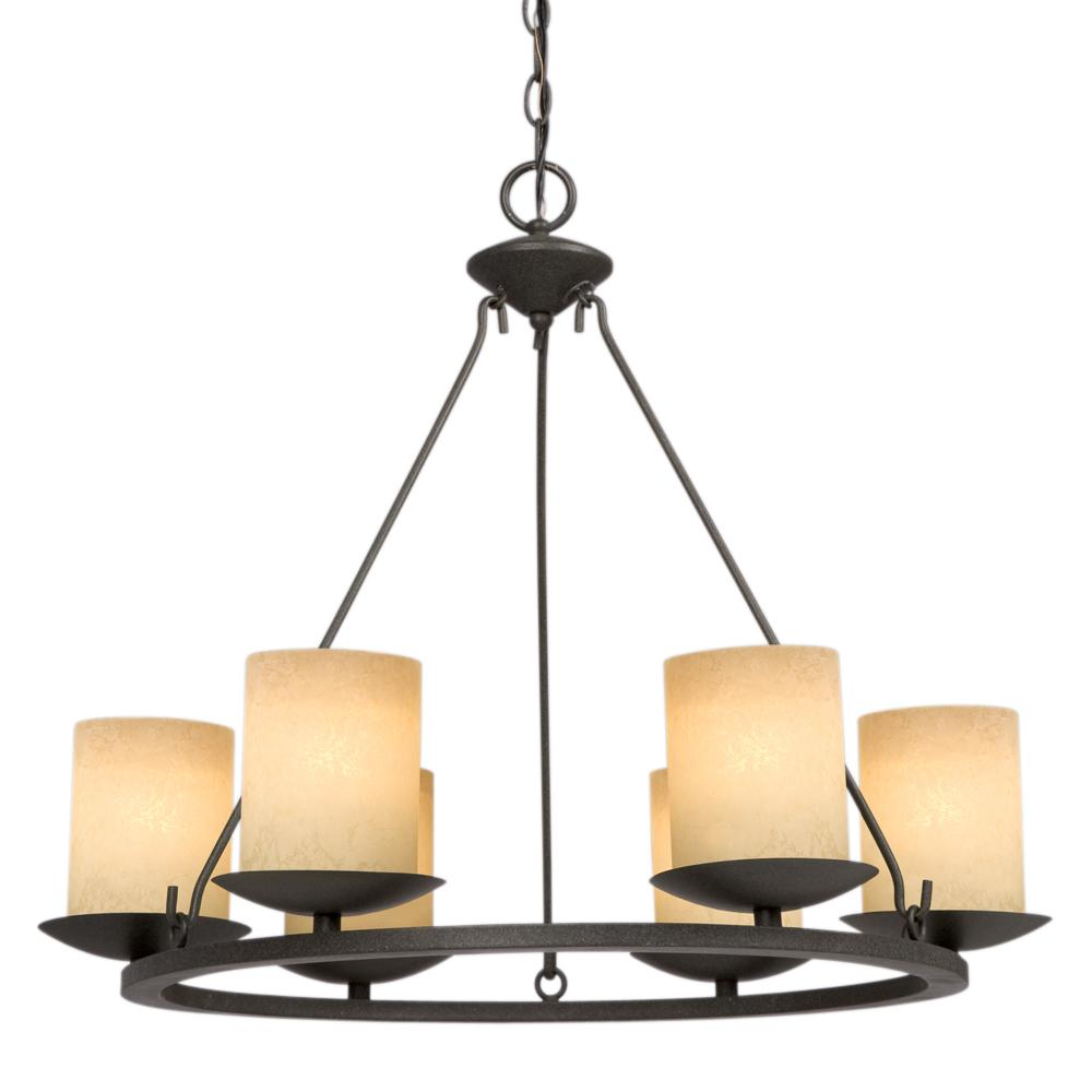 Six light bronze candle chandelier 6xkxl mcinnis lighting six light bronze candle chandelier aloadofball Image collections