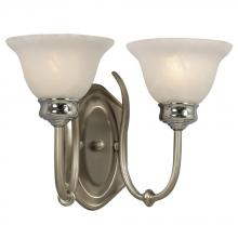 Galaxy Lighting 213302BN/CH - Wall Sconce