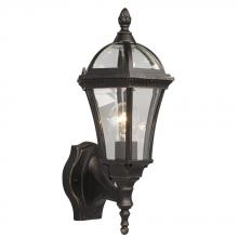 Galaxy Lighting 312361ORB - Outdoor Lantern - Oiled Rubbed Bronze  with Clear Bevelled Glass