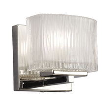 Galaxy Lighting 721416CH - Vanity Light Fixture with Inside Frosted Glass Shade