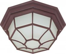 "Nuvo 60/535 - 1 Light 12"" Spider Cage Ceiling"