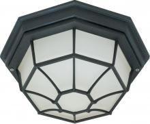"Nuvo 60/536 - 1 Light 12"" Spider Cage Ceiling"
