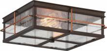 Nuvo 60/5834 - Howell 2 Light Outdoor Flush