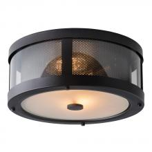 Generation Lighting - Feiss FM396ORB - 2 - Light Bluffton Flushmount