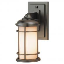 Generation Lighting - Feiss OL2200BB - 1 - Light Wall Lantern