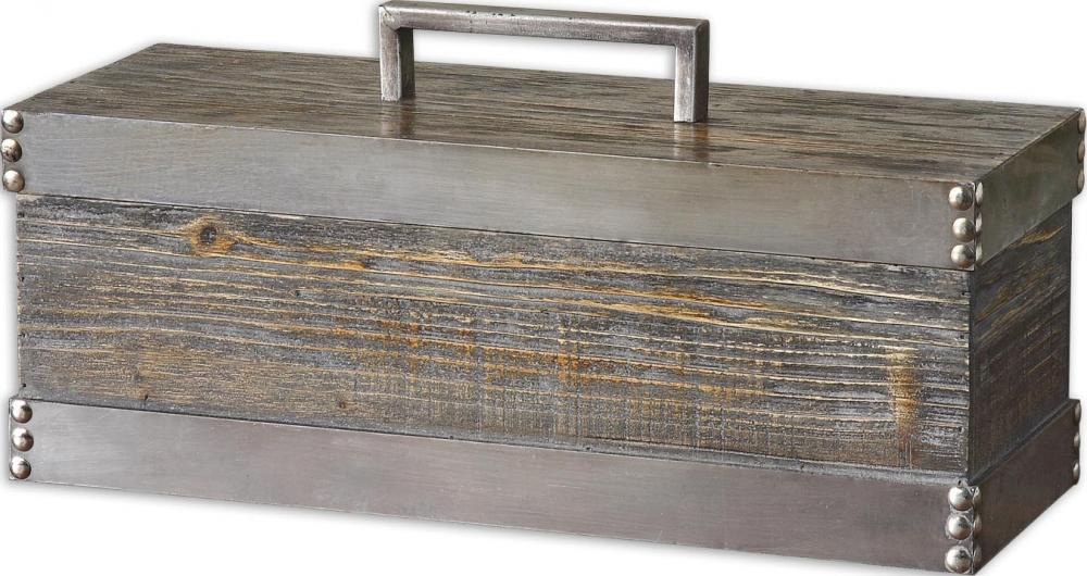 Uttermost Lican Natural Wood Decorative Box