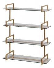 Uttermost 04038 - Uttermost Auley Gold Wall Shelf