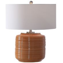 Uttermost 26388-1 - Uttermost Solene Orange Table Lamp